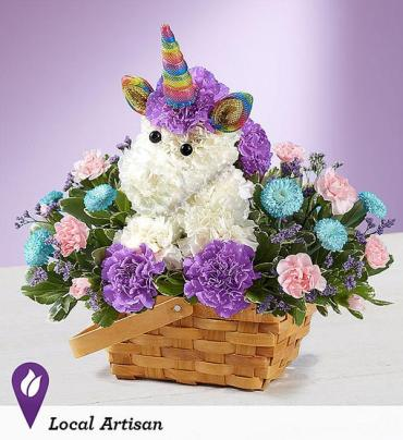 Enchanting UnicornTM Basket
