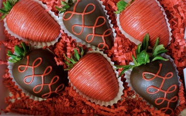6 Pack Chocolate Covered Strawberries