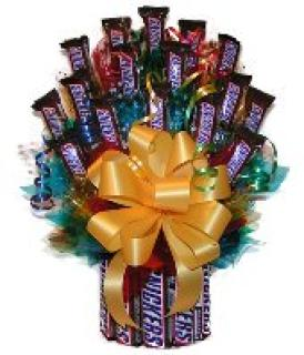 Snickers Candy Bouquet