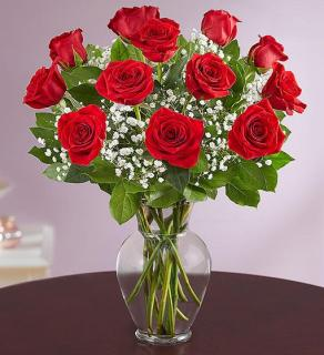 Rose EleganceTM Premium Long Stem Red Roses