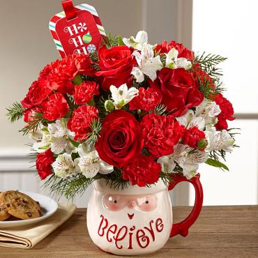 The Believe Mug Bouquet by Hallmark