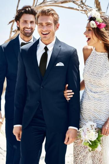 NAVY STERLING WEDDING SUIT