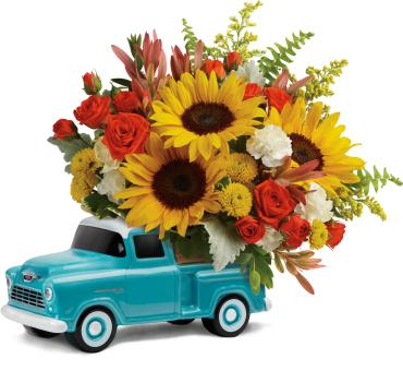 Chevy Pickup Bouquet
