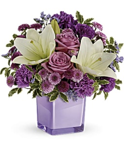 Teleflora Pleasing Purple Bouquet