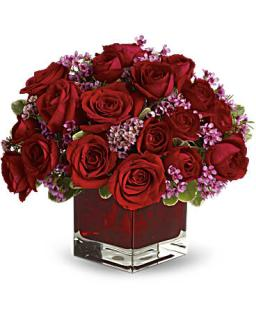 Never Let Go by Teleflora - 18 Red RosesBouquet