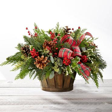 The Holiday Homecomings Basket
