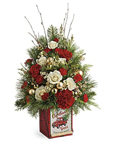 Teleflora\'s Vintage Greetings Tree