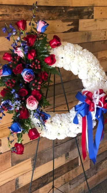 AFU All American Standing Wreath