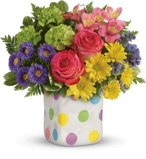 Happy Dots Bouquet