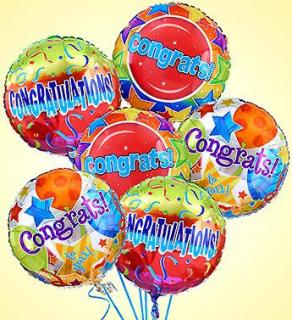 Air-Rangement Congratulations Mylar Balloons