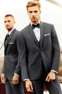 STEEL GREY STERLING WEDDING SUIT