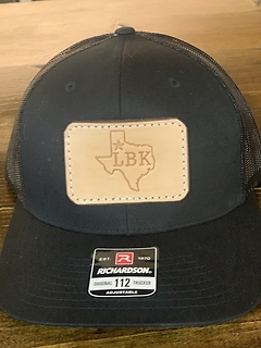 Lubbock Texas Hat- Black