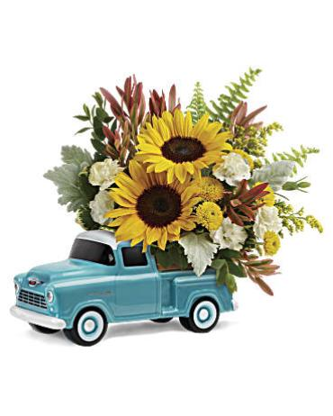 \'55 Chevy Pickup Bouquet